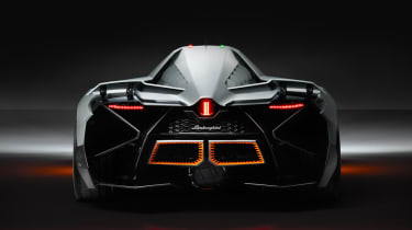 Lamborghini Egoista rear flaps up