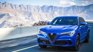 Alfa Romeo Stelvio QV drive - driving
