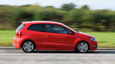 Volkswagen Polo R-line side profile