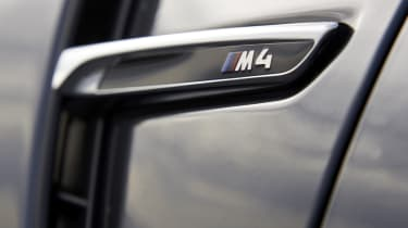 BMW M4 Convertible side vent