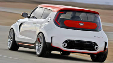 Kia Track'ster hot hatch concept rear view