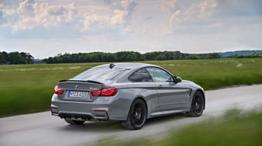 BMW M4 CS - rear tracking