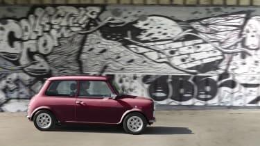 David Brown Automotive Mini Remastered profile dynamic
