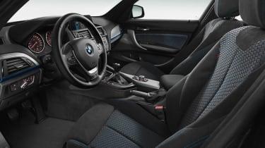 2012 BMW M135i interior dashboard
