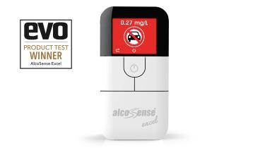 AlcoSense Excel breathalyser