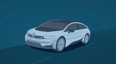 BMW i5 graphic