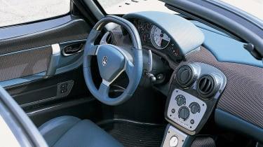Maserati MC12 interior