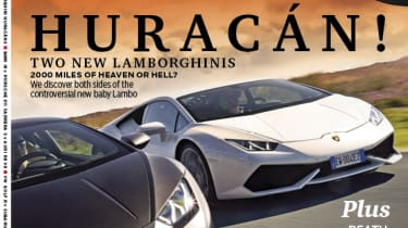 evo Magazine November 2014 - Lamborghini Huracan!