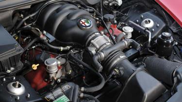Alfa Romeo 8C Competizione engine