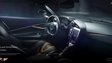 McLaren 720S - Interior