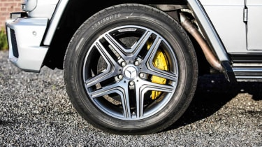 Mercedes G63 AMG tuned by Edo Competition alloy wheel brakes