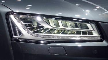 Audi S8 Frankfurt motor show LED headlight