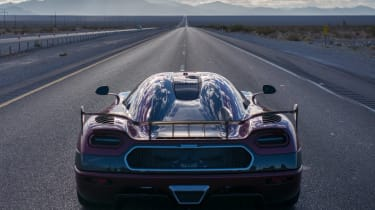 Koenigsegg Regera RS world's fastest car