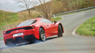 Best performance cars: Ferrari 458 Speciale