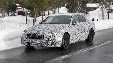 Mercedes-AMG C63 Estate 2021 spy - front