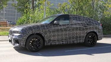 2019 BMW X6 M prototype - side