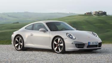 Porsche 911 50 Years Edition Geyser Grey Fuchs alloys