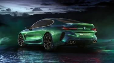 BMW M8 Concept - rear quarter