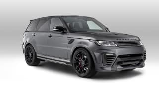 Overfinch Range Rover Sport front three quarters