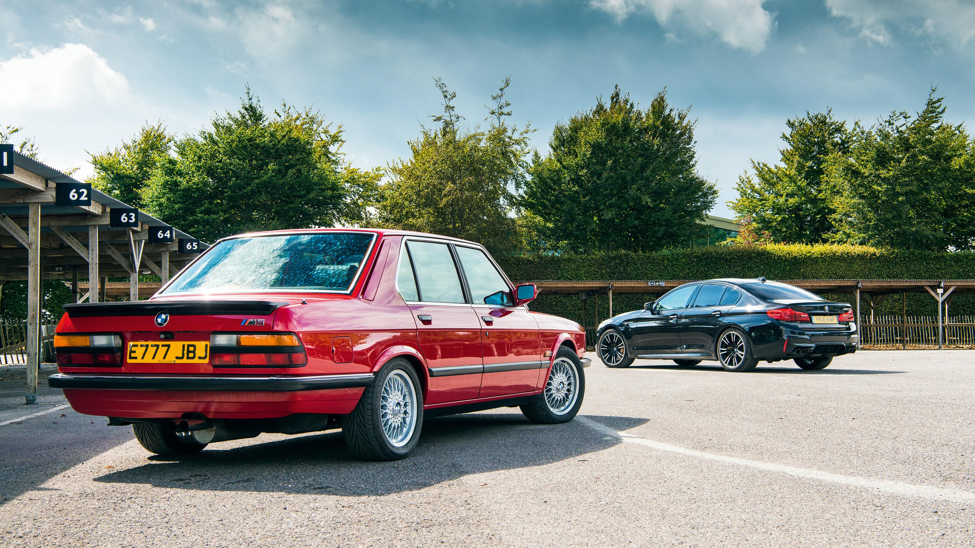 Bmw M5 F90 Vs E28 M5 Rs6 E500 And Lotus Carlton Supersaloons Old Vs New Evo