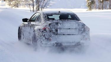 2022 BMW M2 spied rear