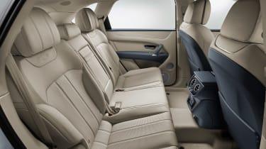 Bentley Bentayga PHEV - back seats
