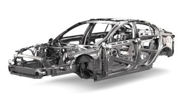 Jaguar XE lightweight frame