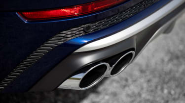 Audi SQ8 TDI review - exhaust