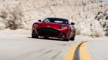 Aston Martin DBS Superleggera - front action