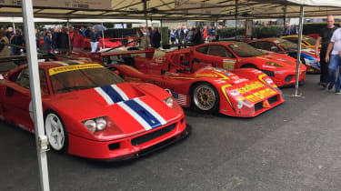 Goodwood Festival of Speed - Ferrari