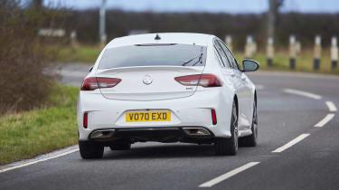 Vauxhall Insignia GSi – rear tracking