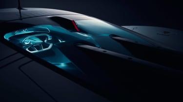 Jaguar Vision Gran Turismo SV Concept - interior
