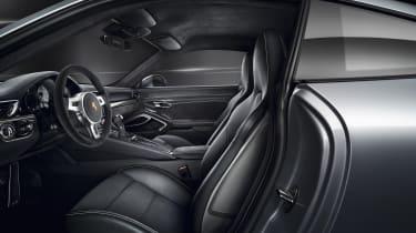 Porsche 911 GTS Coupe interior