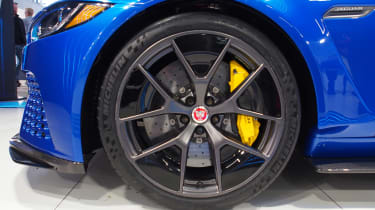 Goodwood Festival of Speed - Jaguar XE SV Project 8 wheel