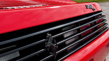 Ferrari 348 tB rear view