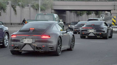 Porsche 911 spy - rear