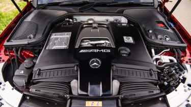 Mercedes-AMG E63 S –engine