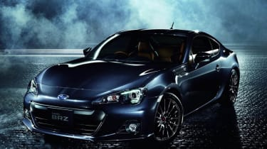Subaru BRZ Premium Sport Edition metallic blue