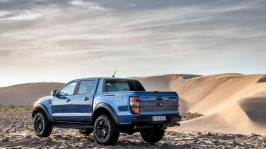 Ford Ranger Raptor - rear quarter