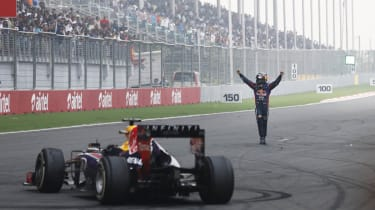 Sebastian Vettel: four-time world F1 champion