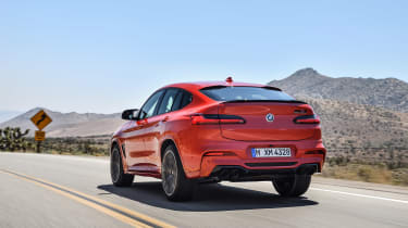 BMW X4 M - rear