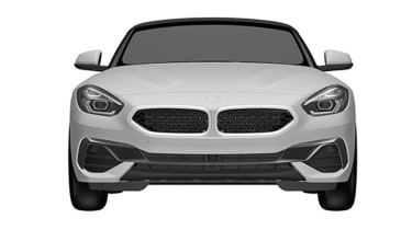 BMW Z4 patent leak - front