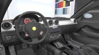 Ferrari 599 HGTE 60F1 interior