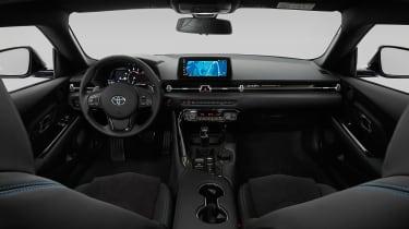 Toyota GR Supra Jarama Racetrack Edition revealed - interior