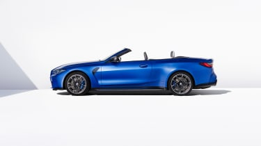 BMW M4 Competition Convertible –side