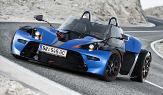 KTM X-Bow GT windscreen roof