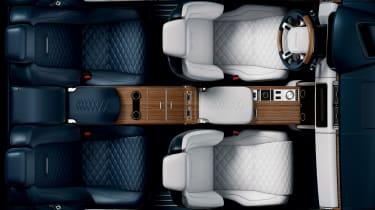 Range Rover Coupe SV - interior top