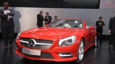 Detroit motor show: new Mercedes-Benz SL