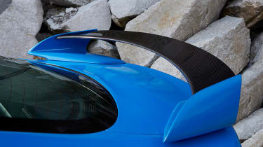 Jaguar XFR-S bootlid spoiler