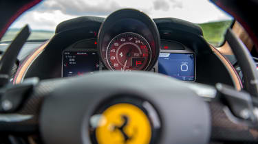 Ferrari 812 Superfast tach